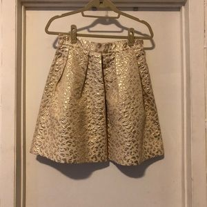 Dresses & Skirts - Hutch leopard jacquard skirt